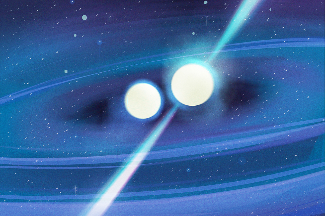An important breakthrough in how we can understand dead star collisions and the expansion of the universe has been made by an international team that includes researchers with the Center for Gravitational Waves and Cosmology at West Virginia University. 