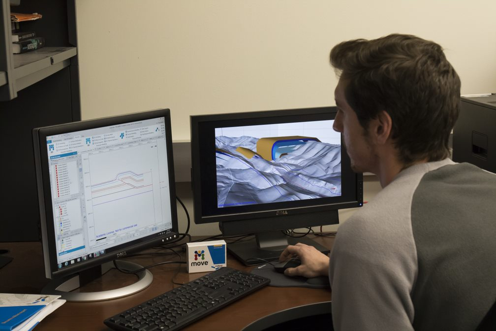 For more than a decade, geology students at West Virginia University have used the same advanced software used by oil and gas companies worldwide, expanding their marketability for industry jobs. 