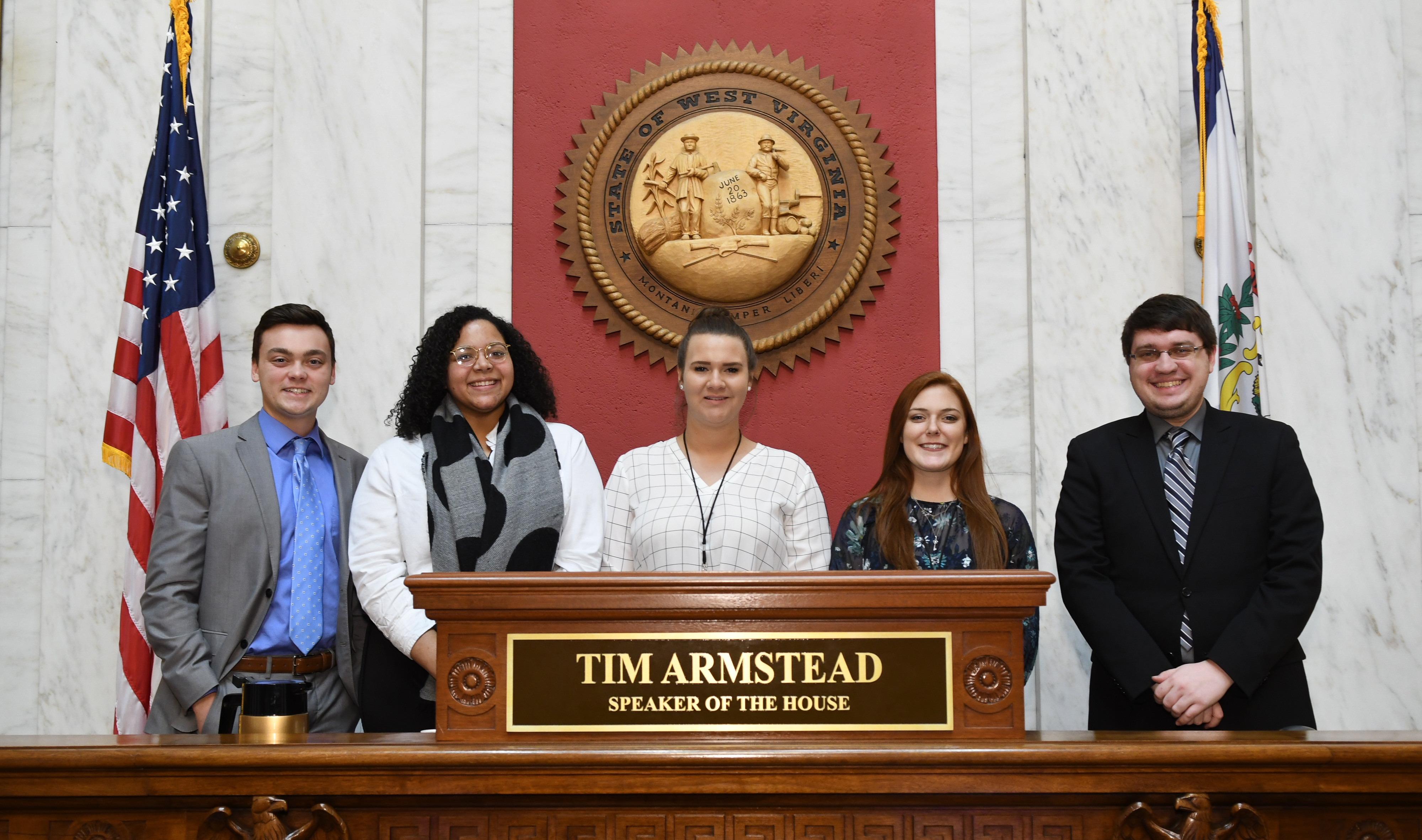 WVU students selected for legislative internships